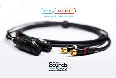 Van Damme 3.5 TRS Gold Plated TRS Studio Grade Starquad Cable Lead Mogami