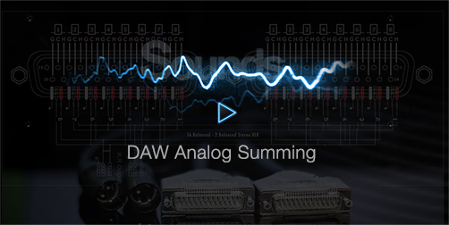 Analog Summing into DAW