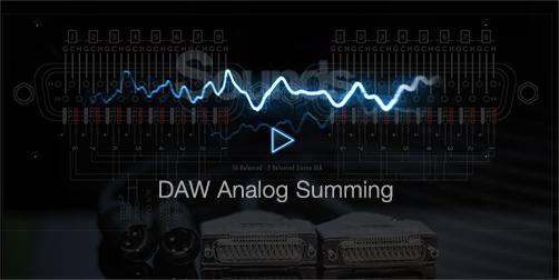 Analog Summing into DAW