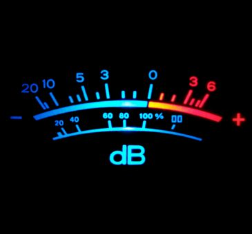 DB Meter Loudness | Fly high Waves Sounds