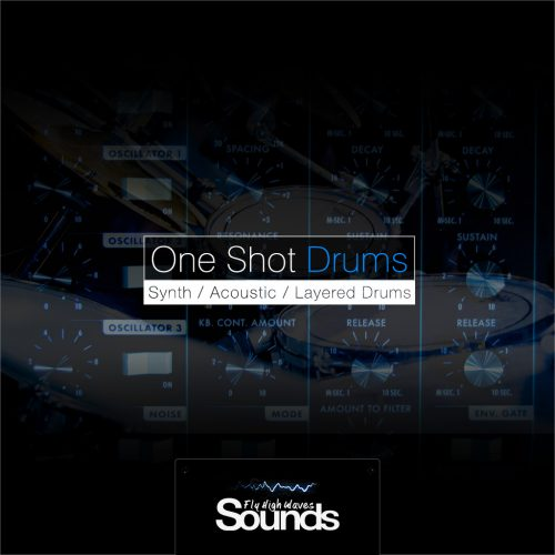 One Shot Drums Sound Samples Library