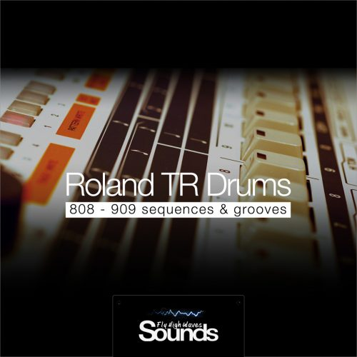 Roland TR Drums Grooves | Sound Samples Library