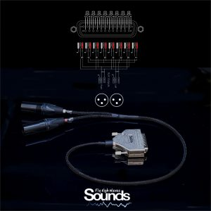 Summing Cable 8 CH | 2 XLR Balanced